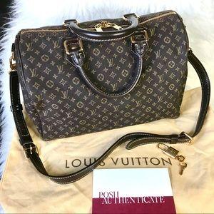 Louis Vuitton Idylle Bandouliere Speedy 30 Satchel